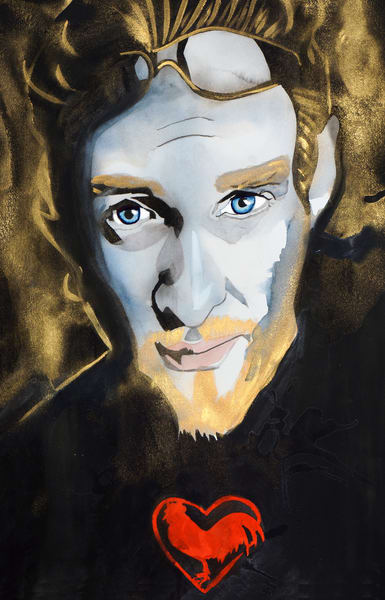 Layne Staley Art | William K. Stidham - heART Art