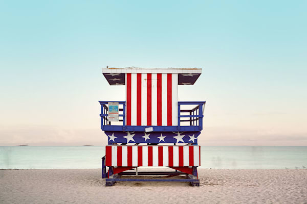 Red White And Blue Photography Art | DE LA Gallery