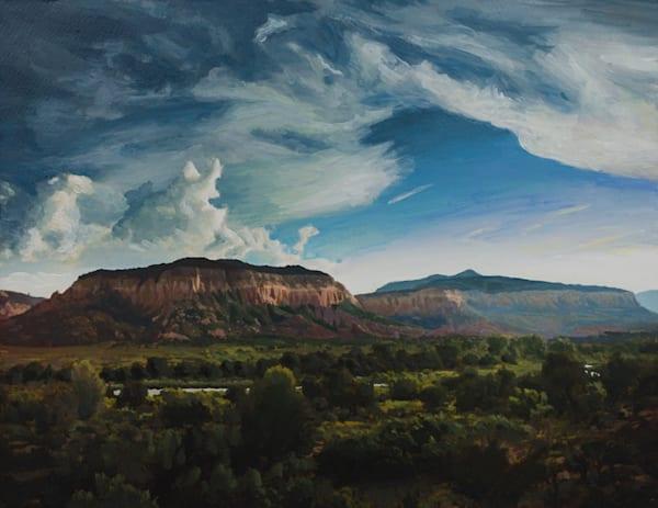 Chama River, New Mexico, Landscape, Acrylic, Painting, Southwest