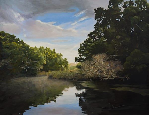 Florida, Chassahowitzka River, Landscape, Acrylic, Painting