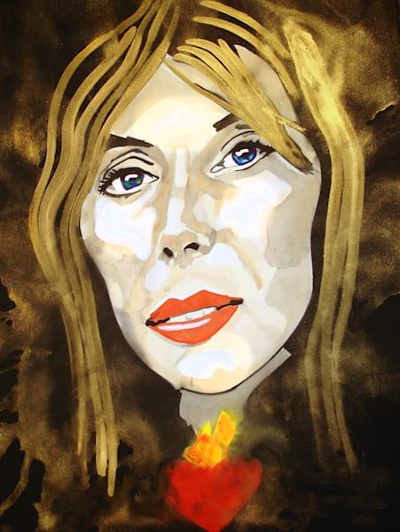 Joni Mitchell Art | William K. Stidham - heART Art