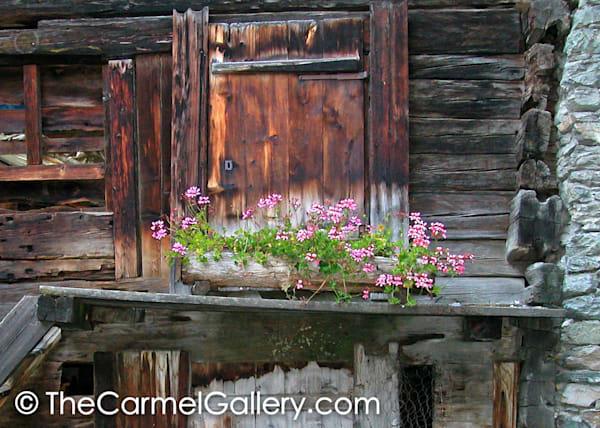 Old Town Zermatt Door