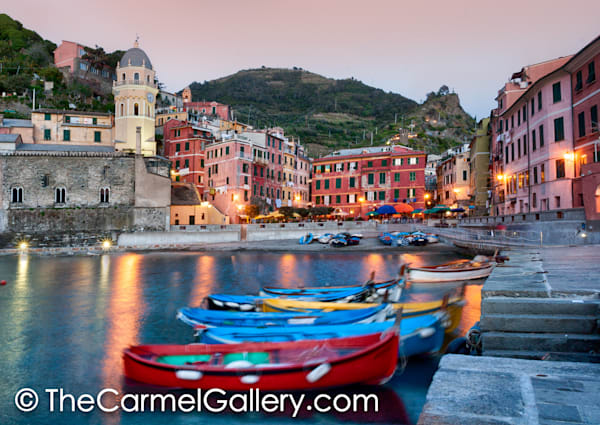 Fishing Boats Vernazza