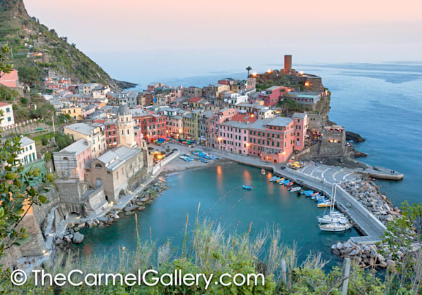Spring Evening Vernazza