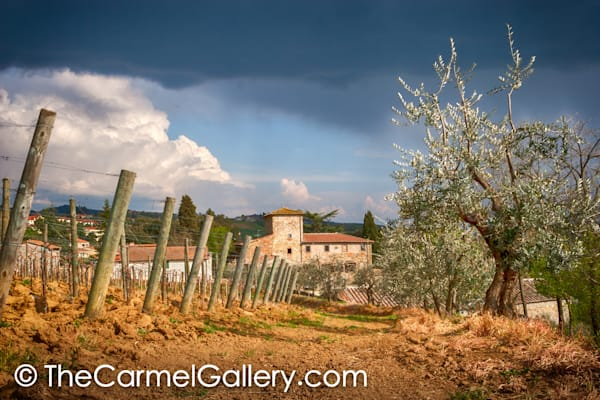 Storm Clouds Tuscany