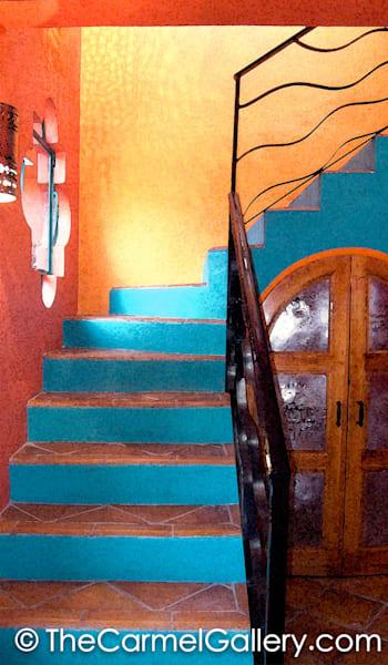 Hacienda Stairs