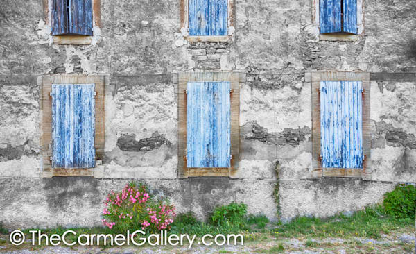 Blue Shutters Provence