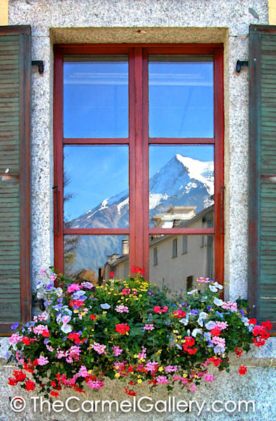 Chamonix Reflections