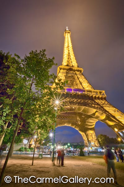 Eiffel Evening Lights