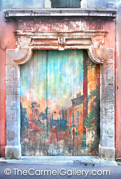 Painted Door, Provence