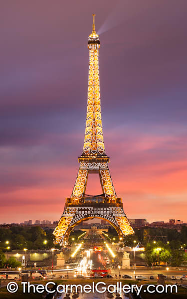Sunset Eiffel Tower