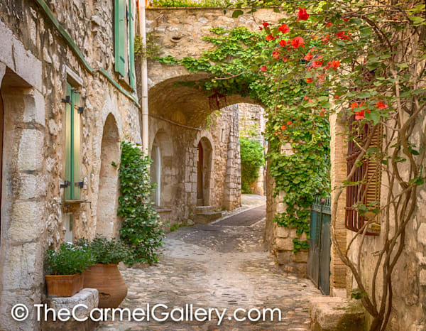 Village Path, St Paul de Vence