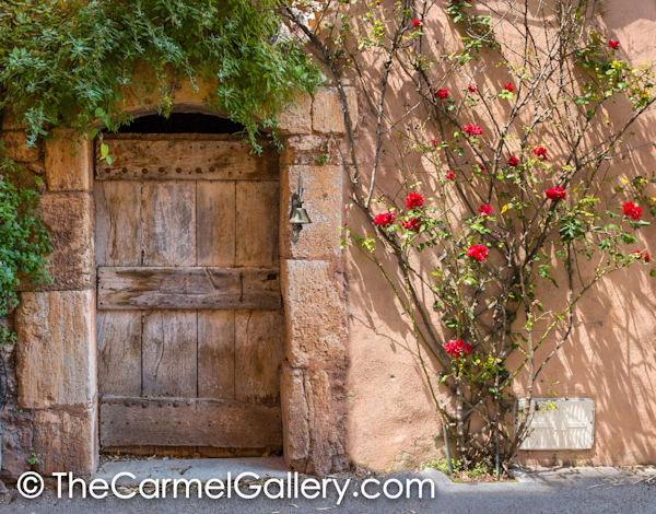 Wooden Door Provence