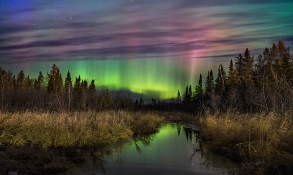 Aurora Borealis Northern Lights Minnesota