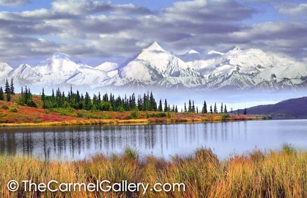 Mt Brooks Alaska Range