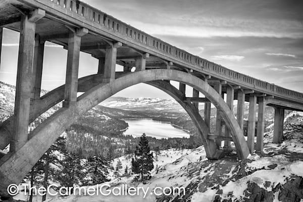 Old 40 Bridge BW