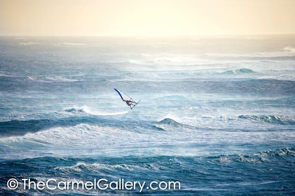 Evening Windsurfer