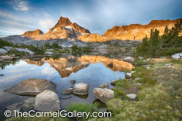 Morning Reflection Banner Peak