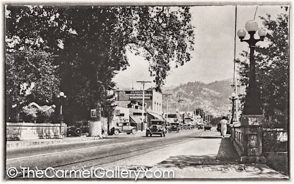 Bridge View Calistoga 1930's