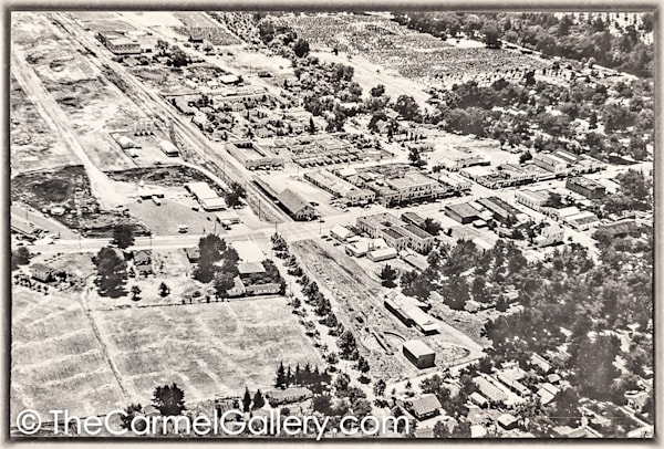 Calistoga Aerial View 1950's