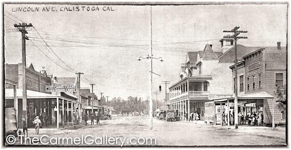 Calistoga Hotel 1920's