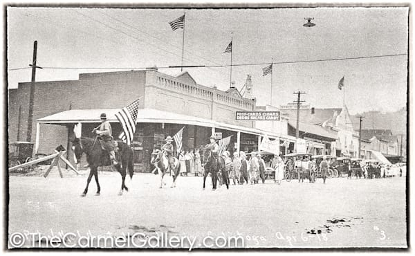 Calistoga Parade 1920's