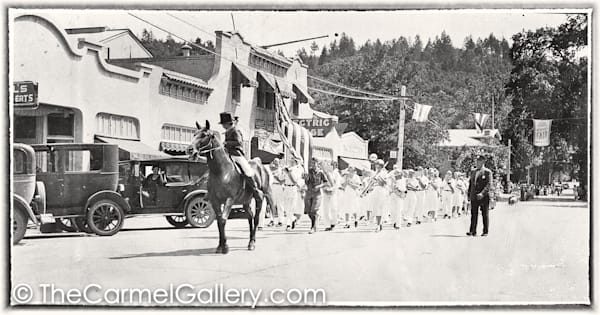 Calistoga Parade 1930's