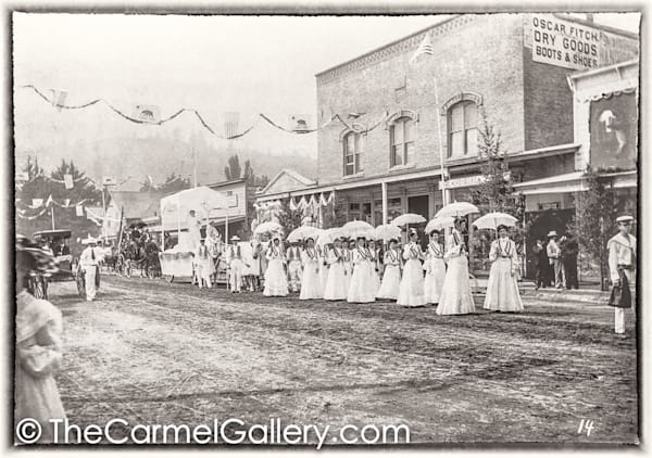Ladies in White Calistoga 1890's