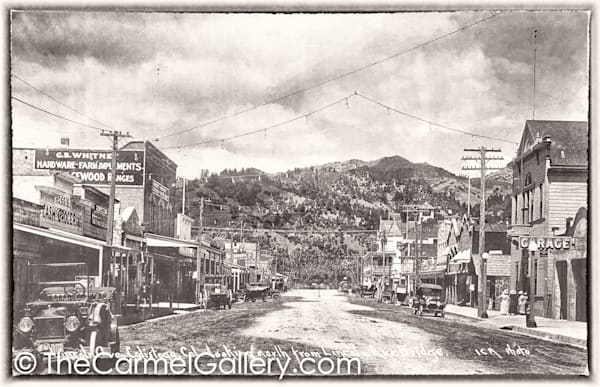 Lincoln Ave Calistoga 1920;s