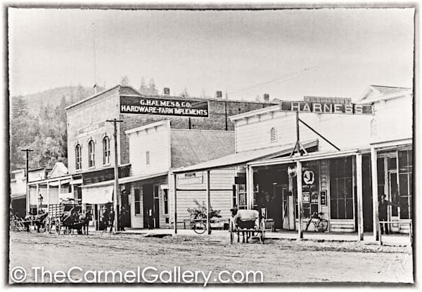 Lincoln Ave Calistoga 1898