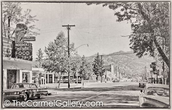Lincoln Ave Calistoga 1960's II