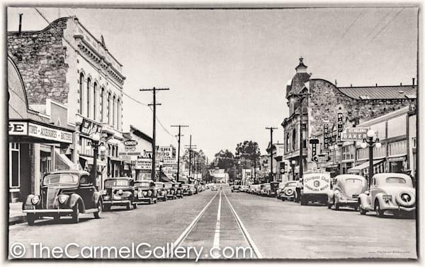 Main St St Helena 1940's