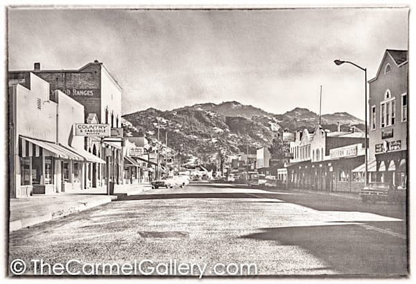 Lincoln Ave Calistoga 1970's