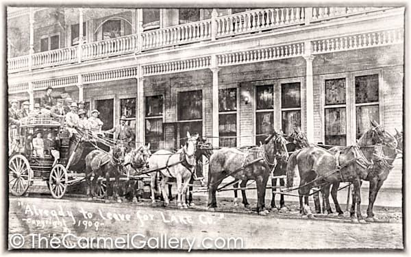 Stagecoach Calistoga Hotel