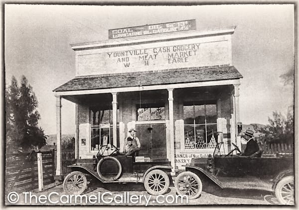 Yountville Grocery 1930's