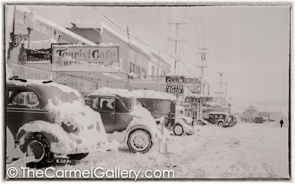 Truckee Tourist Cafe 1930's