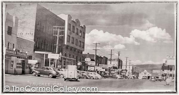Truckee Main Street 1940's