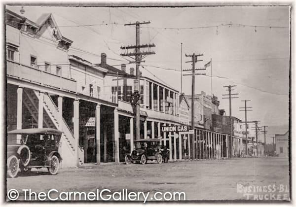 Truckee Business 1920's