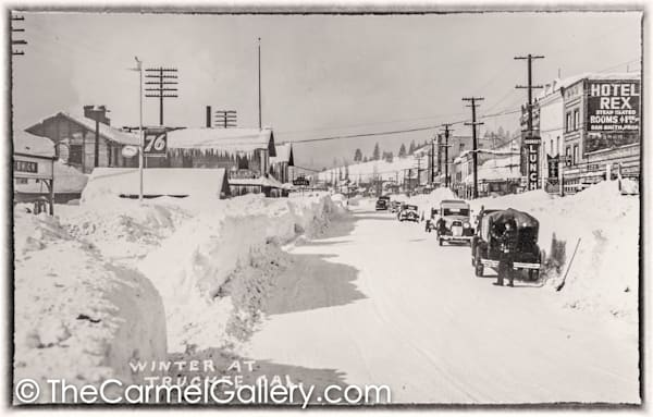 Truckee Winter 1930's