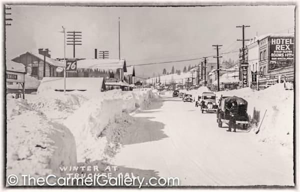 Truckee Winter 1930's