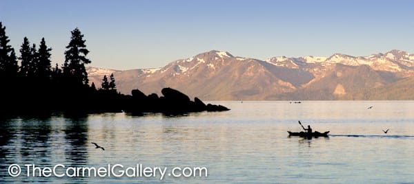 """Early Morning Sand Harbor"" 