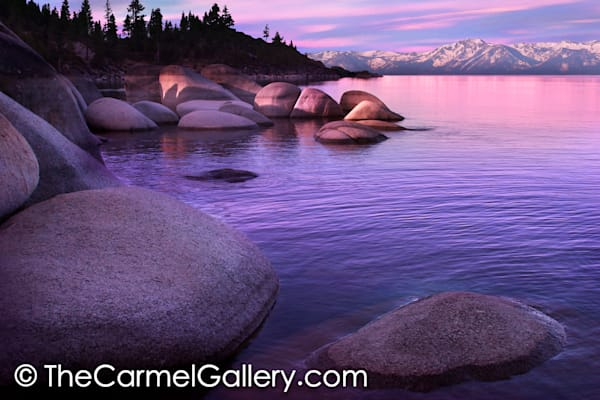 Sunrise Lake Tahoe