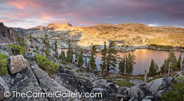 Sunrise Desolation Wilderness