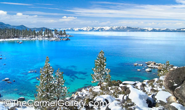 Winter View Lake Tahoe