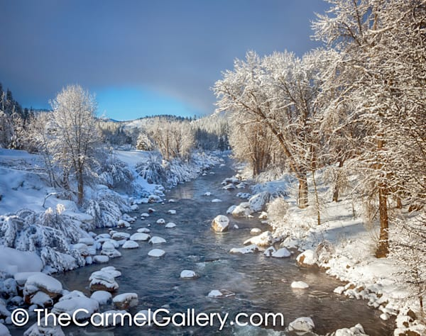 Winter Sun Truckee River