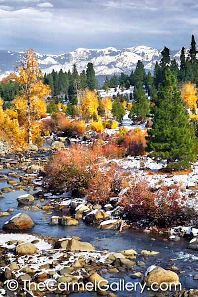 First Snow Truckee River