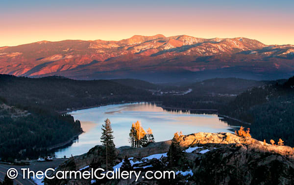 Donner Lake Sunset