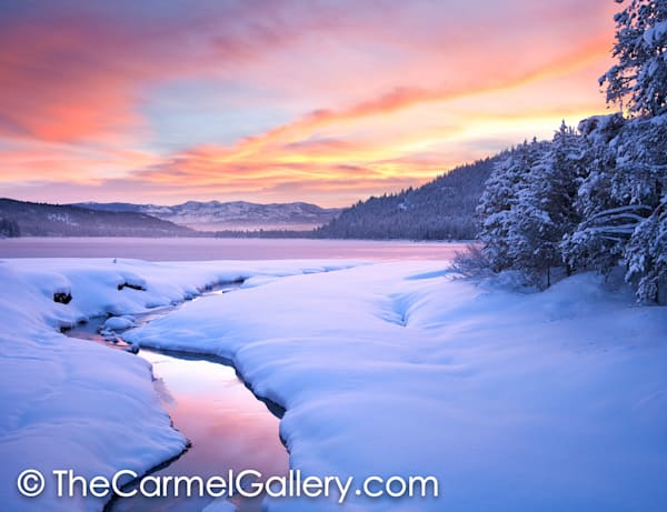 Winter Sunrise Donner Lake
