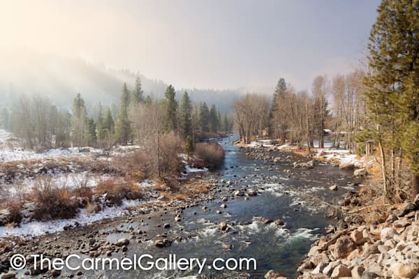 Morning Sunlight Truckee River