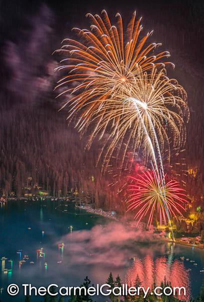 Donner Lake Fireworks